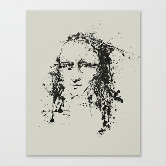 Modern Lisa Canvas Print