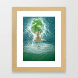 Divine Tree Framed Art Print