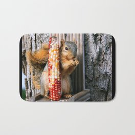 Indian Corn Squirrel Bath Mat