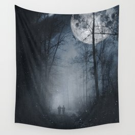 moon walkers Wall Tapestry