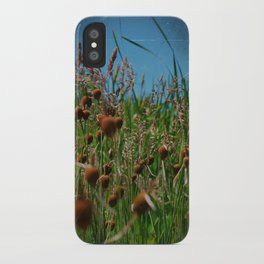 Lying in the Grass iPhone Case