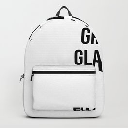 fucking great glazier Backpack