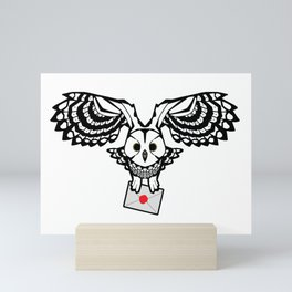 Letter From Hedwig | Geekdom Series | DopeyArt Mini Art Print