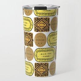 Biscuit Bricks Travel Mug