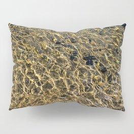 Gold Water Pillow Sham