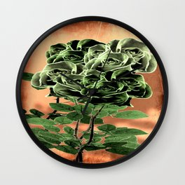 WILD IRISH ROSE - 051 Wall Clock