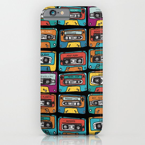 MIXTAPE - ANALOG zine iPhone & iPod Case