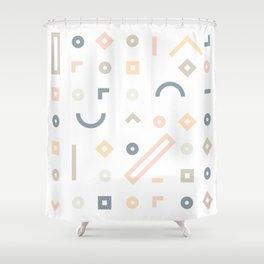 Pasteli Lineas Shower Curtain