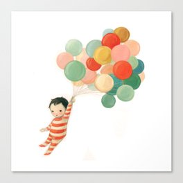 Wonderful Things Balloon Baby by Emily Winfield Martin Canvas Print