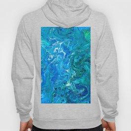 Elegant Crazy Lace Agate 2 - Blue Aqua Hoody