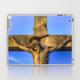 Jesus Statue Laptop & iPad Skin