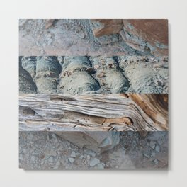 Texture One Metal Print