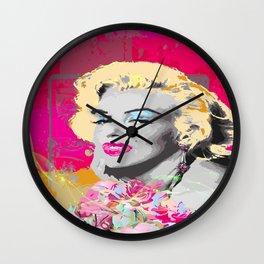 Goodbye Norma Jean Wall Clock