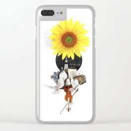 93 MILLION MILES (Totem of the Dove) Clear iPhone Case