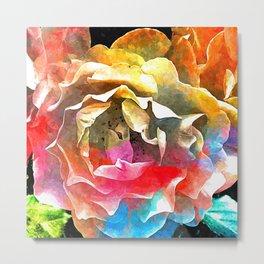 Roses Colored Metal Print