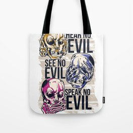 Hear No Evil Art Tote Bag