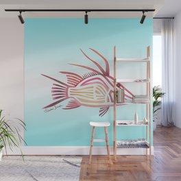 Hogfish Wall Mural