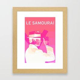 Le Samourai 1  Framed Art Print