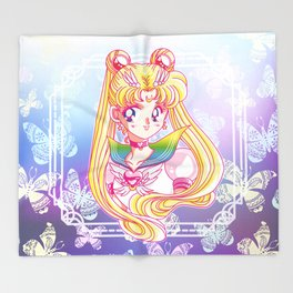 Eternal Sailor Moon New Version Throw Blanket