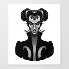 Feral Fashionista Canvas Print