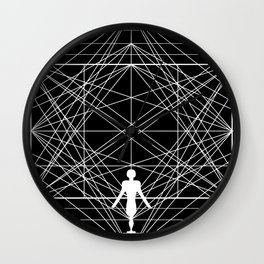 Man in Space Wall Clock