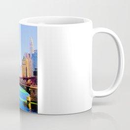 Clark St. Bridge, Chicago (Pop) Coffee Mug