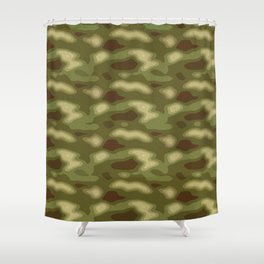 Camo pattern Shower Curtain