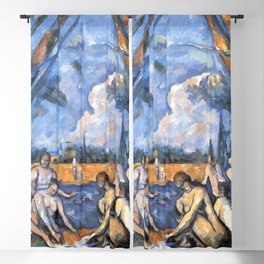Paul Cezanne - The Large Bathers Blackout Curtain