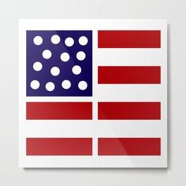 American design! USA flag #society6 #decor #buyart #artprint Metal Print