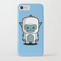 yeti iPhone & iPod Cases featuring Yeti by m. arief (mochawalk)