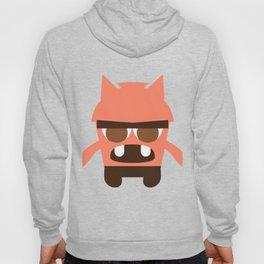 Orange Cartoon Monster Boy Hoody