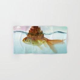 Goldfish Castle Hand & Bath Towel
