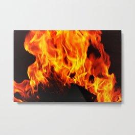 Fan the Flame Metal Print