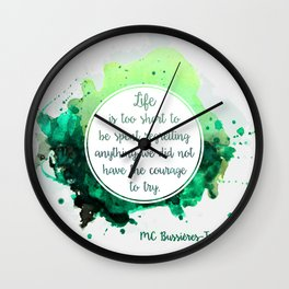 Marie-Claude Bussières-Tremblay Wall Clock
