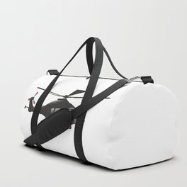Black European Helicopter Duffle Bag