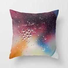 Bubble Power Throw Pillow