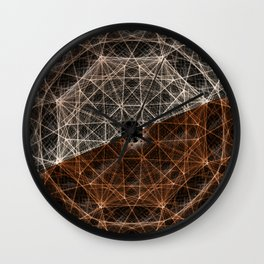 Our Webbed Cognition Wall Clock