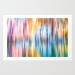 Rainbow Reflections Art Print