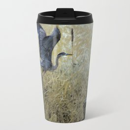 Blue Wings Travel Mug
