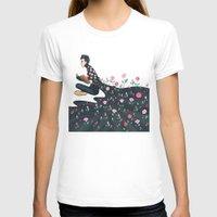 tyler spangler T-shirts featuring Flowering Tyler by poweredbycokezero