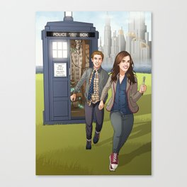 Fitzsimmons - Running Through Time and Space Canvas Print
