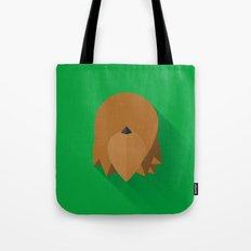 Chewbacca Minimalist Poster Tote Bag