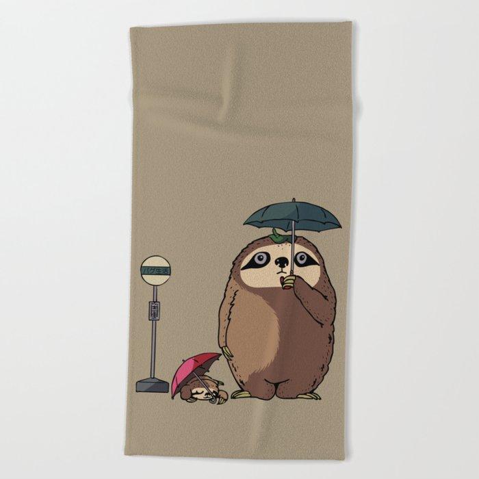 SlothTORO Beach Towel