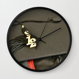 Graduation - Class of 2012 Wall Clock