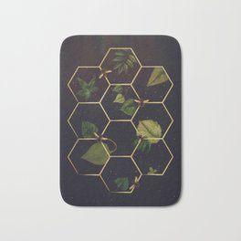 Bees in Space Bath Mat