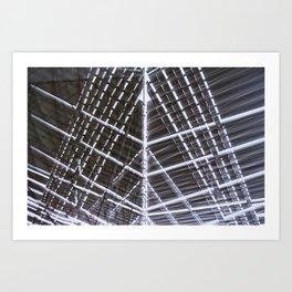 Geometric Distortions - 2 Art Print