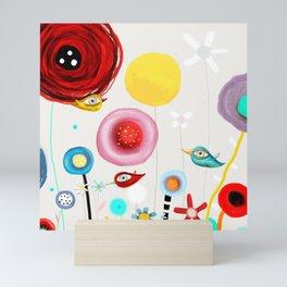 Invent new feelings everyday Mini Art Print