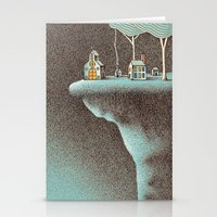community Stationery Cards featuring The Secluded Community by N / A
