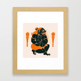 Drawapala Framed Art Print