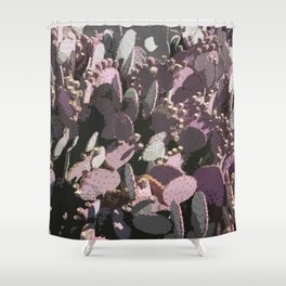 Cacti Field Shower Curtain